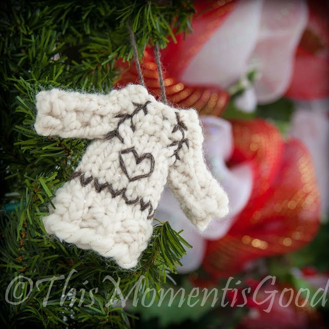 Good Loom Knit Christmas Ornaments Part - 10: Knit Pretty Or Ugly, This Adorable Sweater Ornament Is Holiday Fun For The  Tree! Iu0027ve Always Loved Knit Christmas Ornaments But Have Ne.