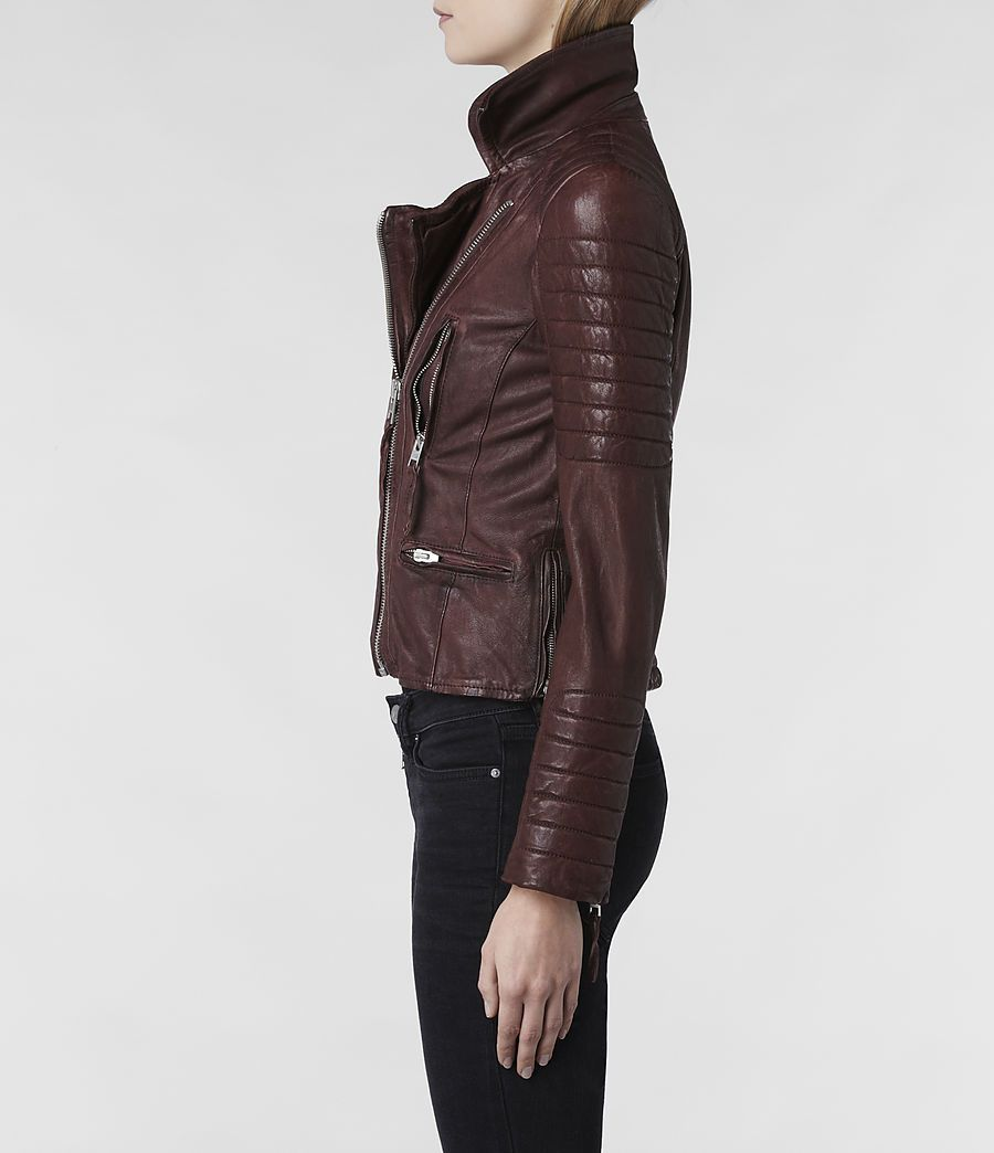 Allsaints Women S Leather Jackets Iconic Pieces Leather Jackets Women Fashion Style [ 1044 x 900 Pixel ]