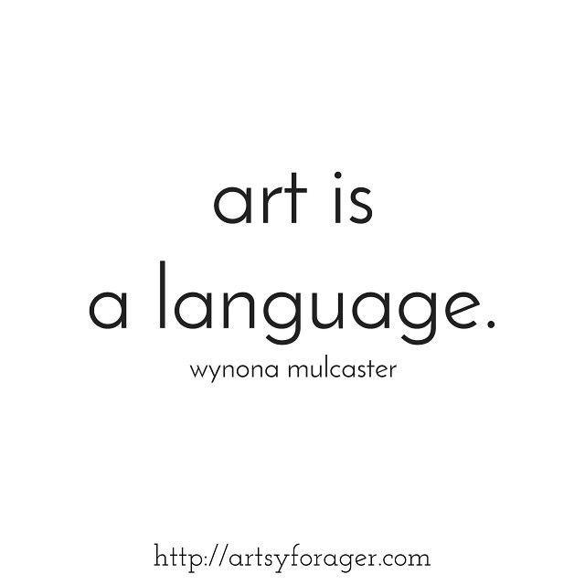 A Language Of Love Artist Quotes Creativity Quotes Art Quotes