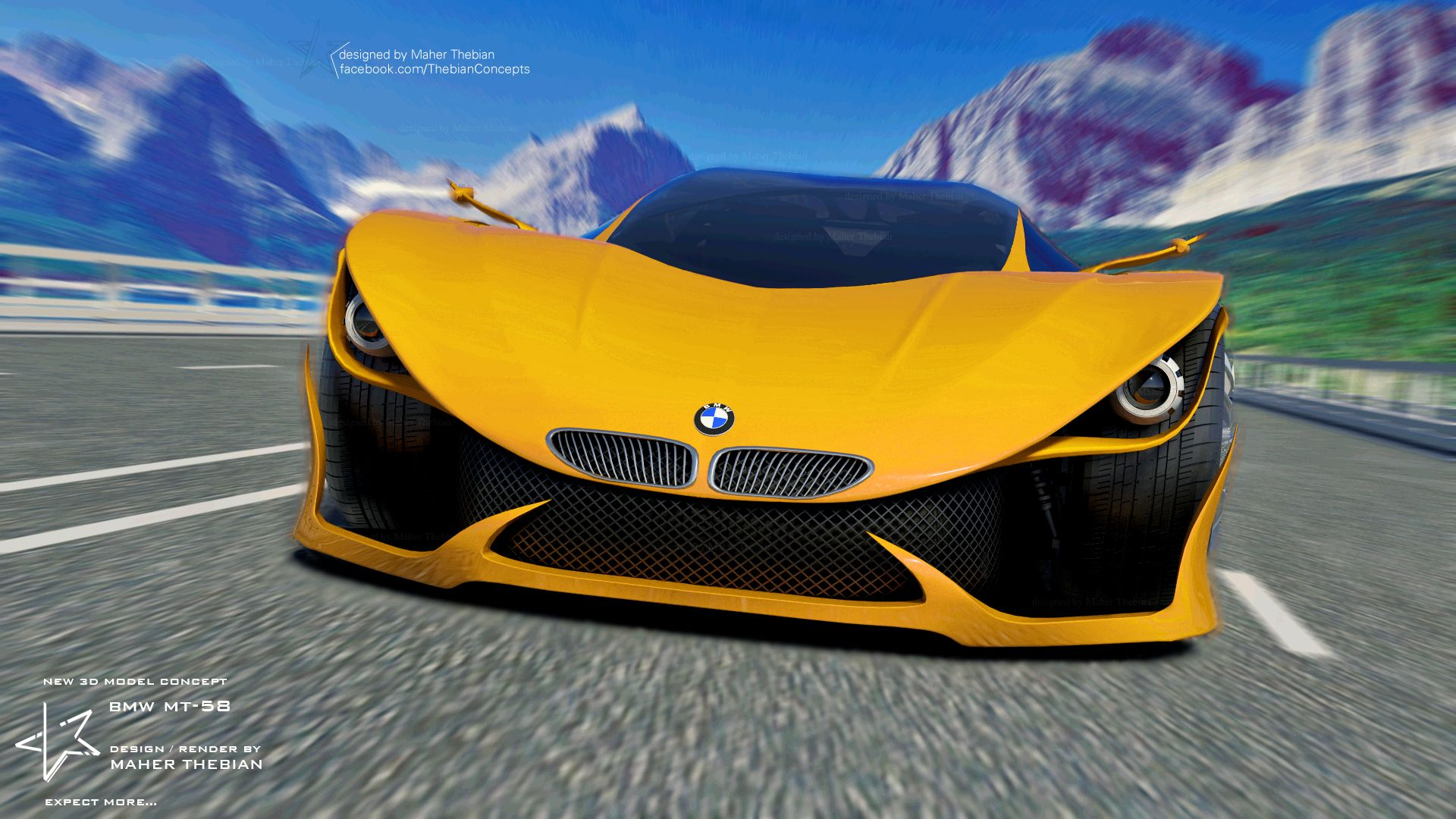 My New 3d Max Concept Car Design For Bmw Future Super Sports Car Competing With Best Super Cars On The Market The Propo Concept Cars Bmw Concept Car Sonic Car