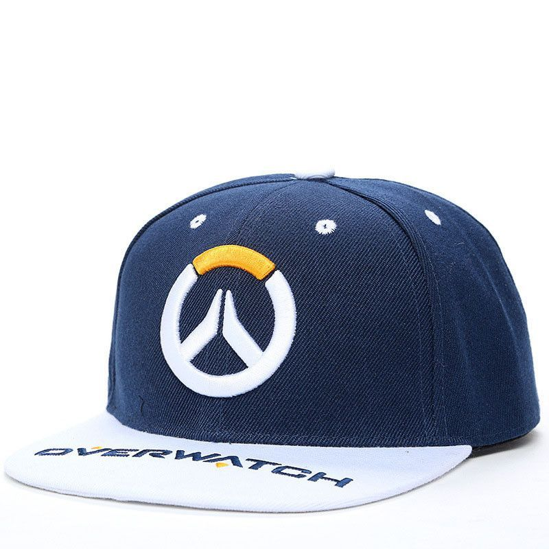 69a35df25f70f Overwatch Snapback Hat Cosplay