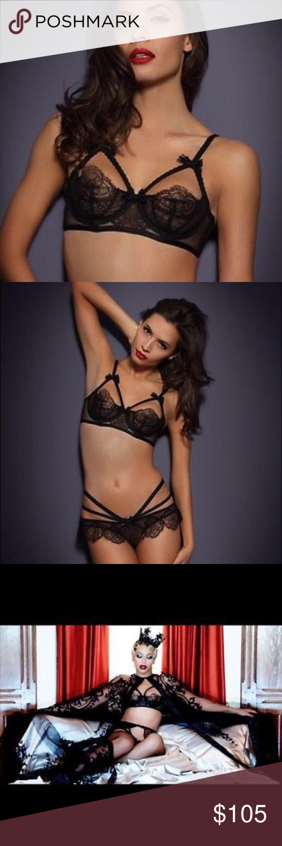 NWT Agent Provocateur ALINA Super Sexy Bra ALL REASONABLE OFFERS ARE  WELCOMED The Alina bra is 604c21fe6
