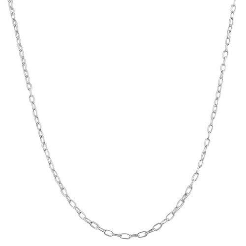 Sterling Silver 1.5-mm Mixed Link Chain (18 Inch) Kooljewelry. $7.99. Crafted in sterling silver. Comes with a comfortable spring ring closure. Classic other chain type chain makes a simple basic casual necklace. An essential piece by itself or combined with your favorite pendant. Weighs 1.6 gram(s). Save 71% Off!