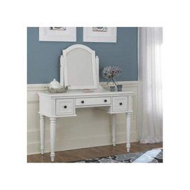$375.00 Home Styles Bermuda Brushed White Makeup Vanity At Lowes. Would  Need To Paint Darker