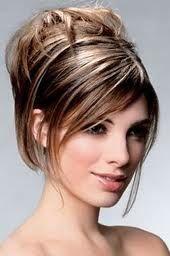 Peinados recogidos de pelo corto