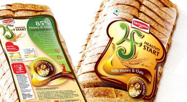 Britannia Healthy Start Bread on Behance