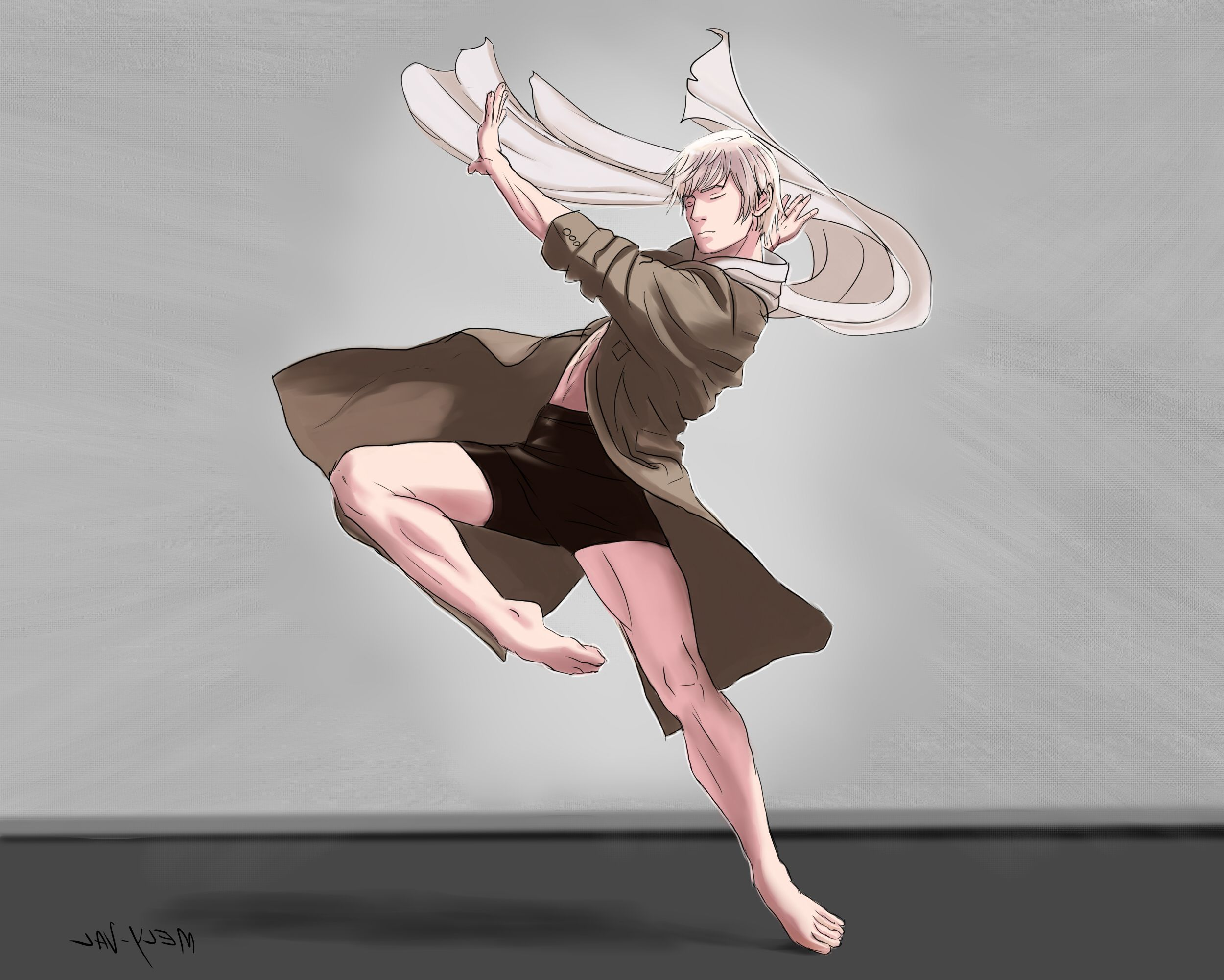 Russia Doing Ballet Hetalia