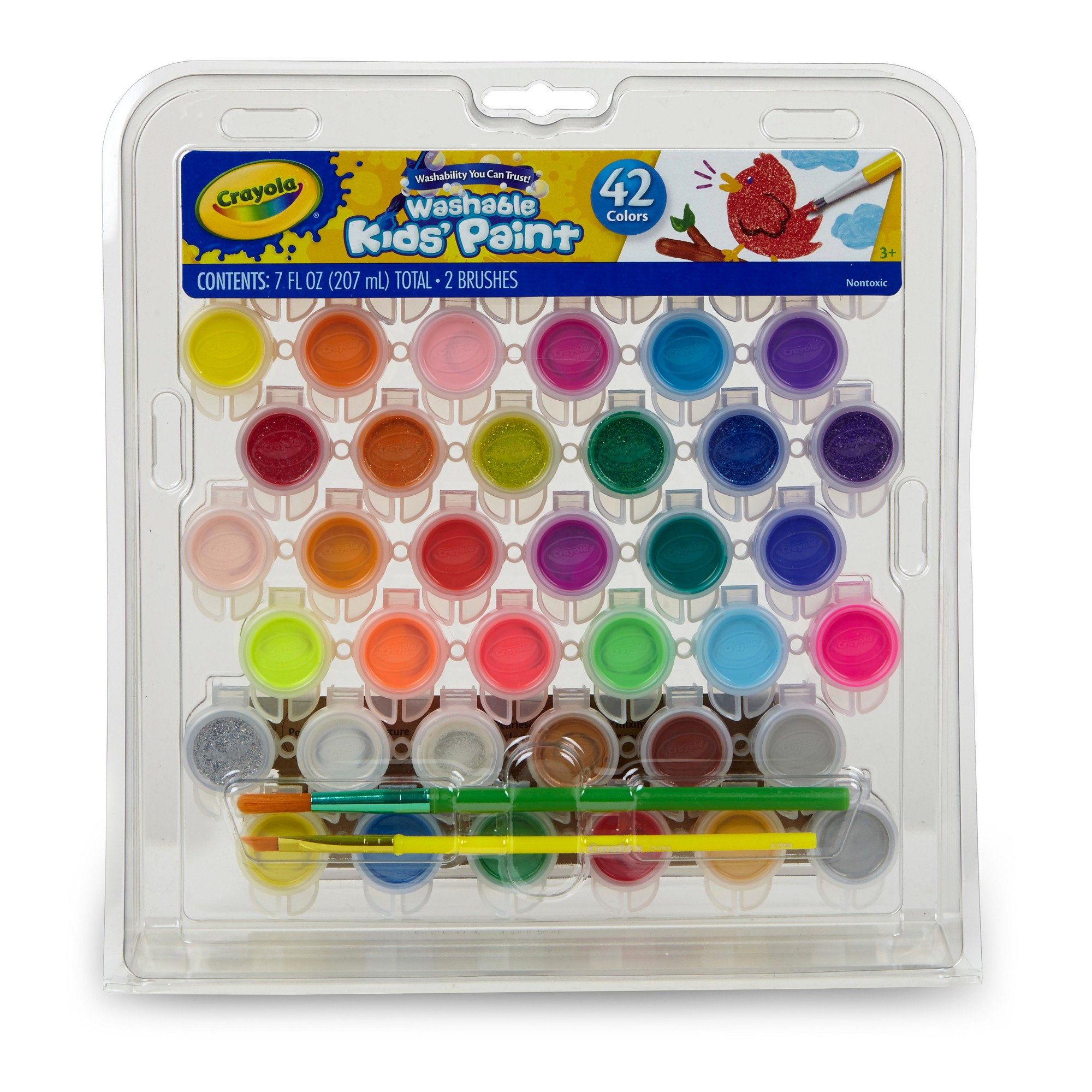 Crayola Washable Kids Paint Painting Supplies Gift For Kids