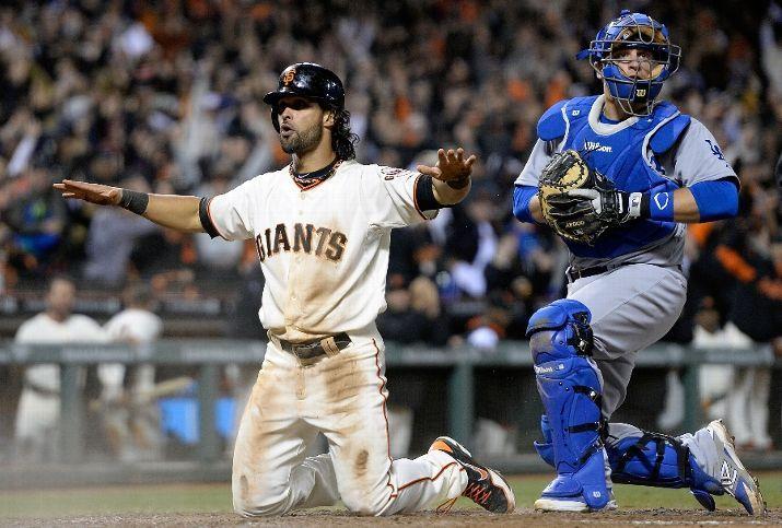 Los Angeles Dodgers Vs San Francisco Giants April 15 2014 Espn San Francisco Giants San Francisco Giants Baseball Los Angeles Dodgers