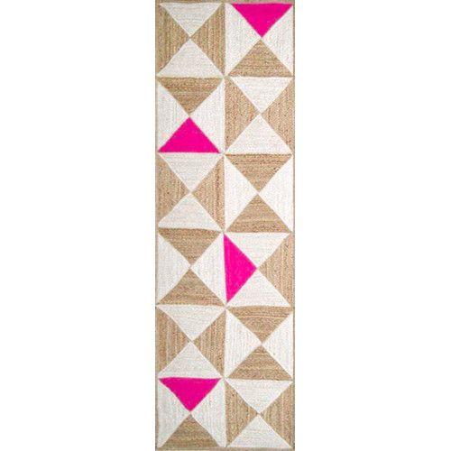 Sherrick Oriental Handmade Flatweave Tan Area Rug Geometric Area Rug Area Rugs Plastic Carpet Runner