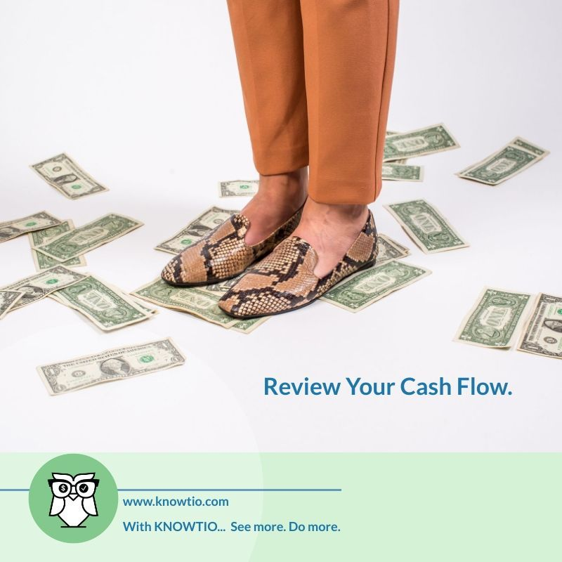 Review Your Cash Flow in 2020 Financial planning