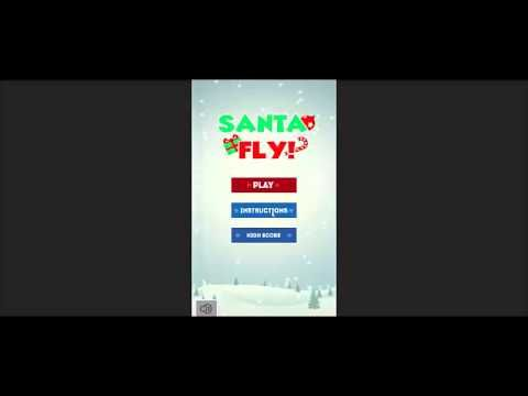 Download Free Source code of Santa Fly game via Android/IOS/Amazon