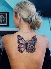 Photo of 40 Schmetterling Tattoo Ideen, die Sie lieben werden Seite 27 von 43, #butterfly #ideas #love #Page #prett …