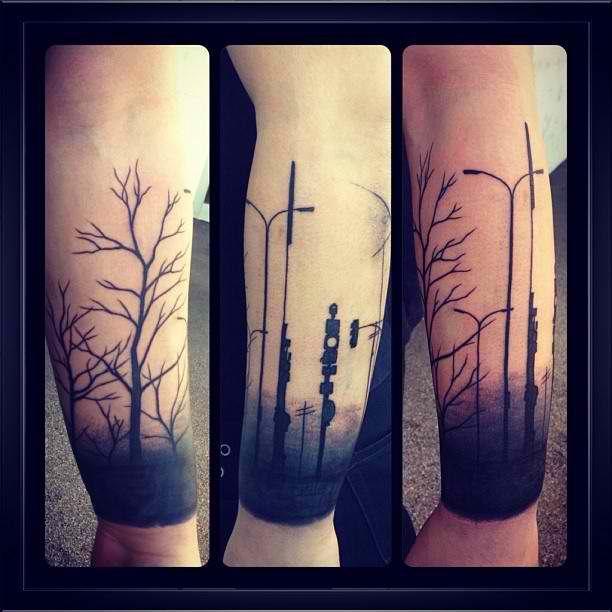 New Tat 03 15 13 By Lukas Schneider The Clinic Austria Line Tattoos Forearm Tattoos Tattoos