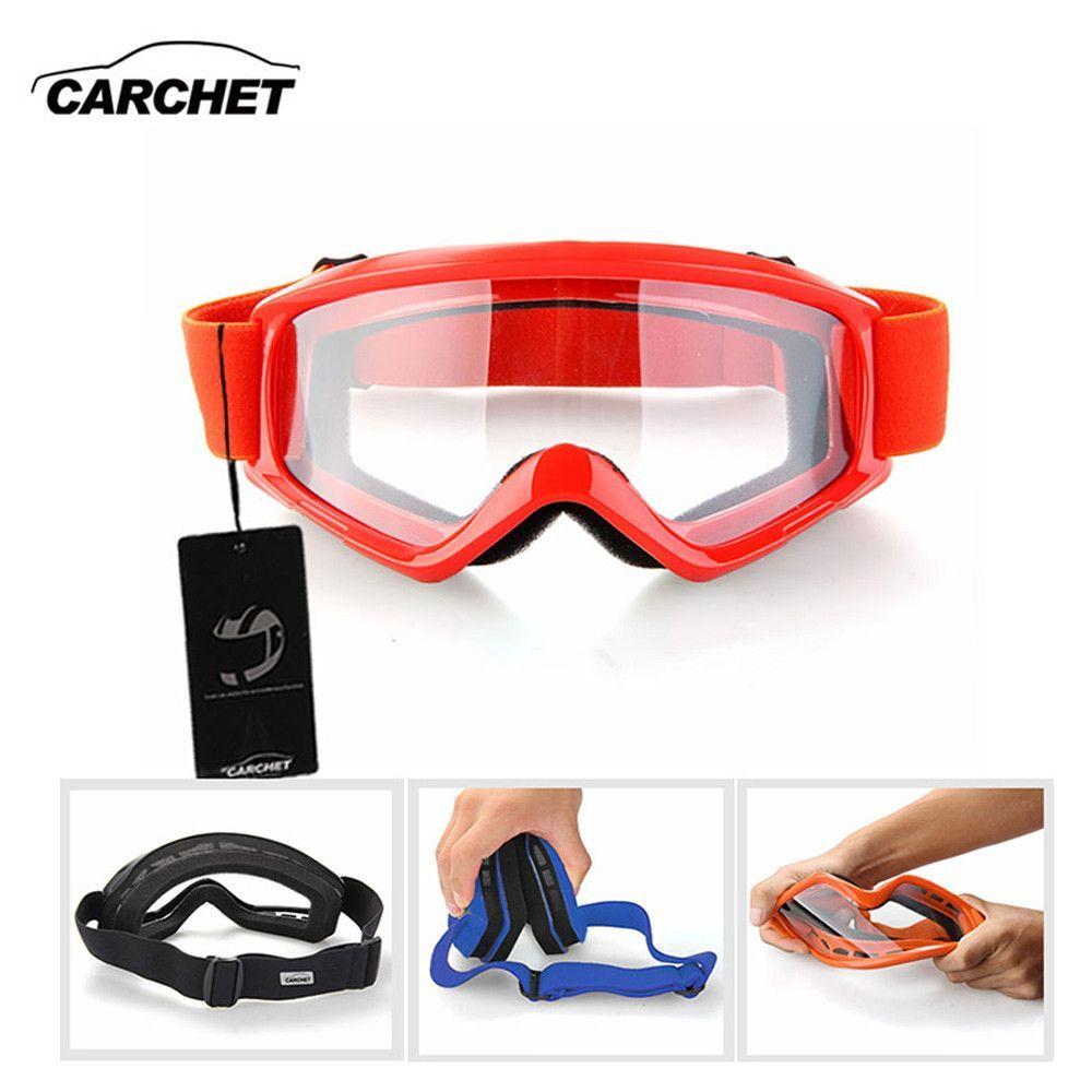 69de5c012bd CARCHET Motorcycle Goggles Motocross Outdoor Sport Glasses Windproof Motor  Off Road ATV Dirt Bike Helmet Eye