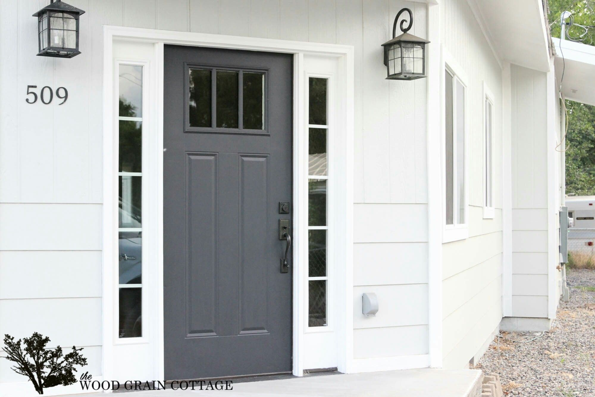 cottage front door colors