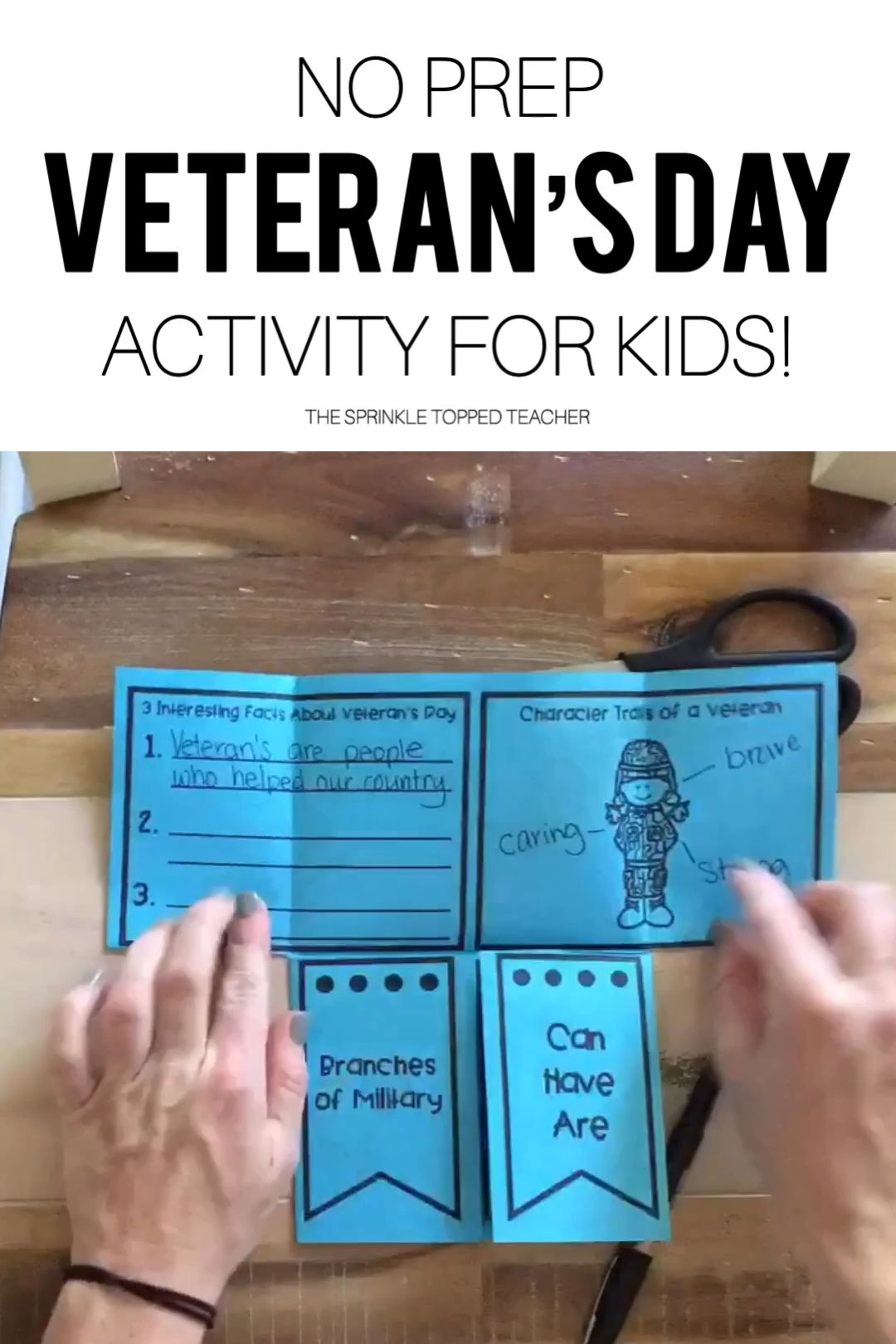 This Was The Perfect Easy And Fun Veterans Day Activity