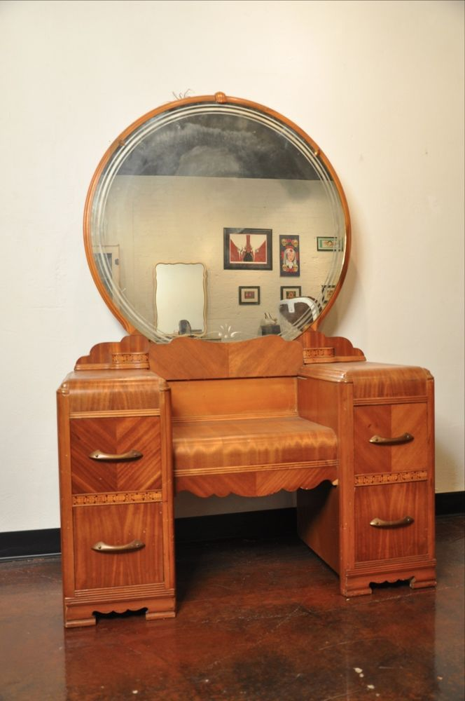 Vintage bedroom set vanity dresser | Vintage bedroom sets ...