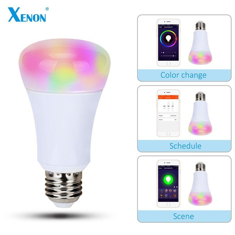 Xenon Wi Fi Bulb Works With Amazon Echo Alexa Smart Wreless Bulb