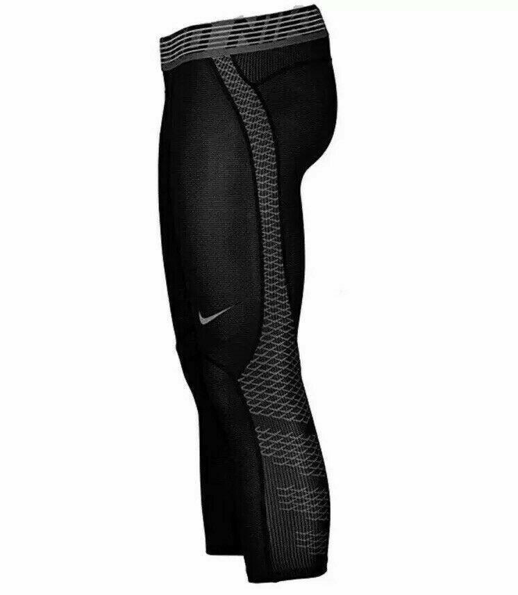 Nike Pro Hypercool 3//4 Compression Training Tights Black Sz M Medium 932411 010