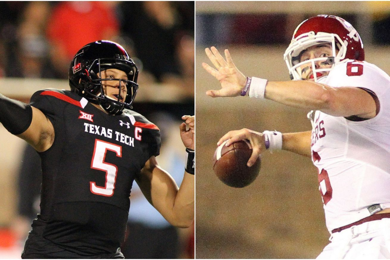The night Mahomes vs. Mayfield rewrote the NCAA record