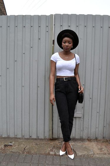 Mom Jeans (por Abi Ogun)   black girl fashion   Pinterest   Mom ...