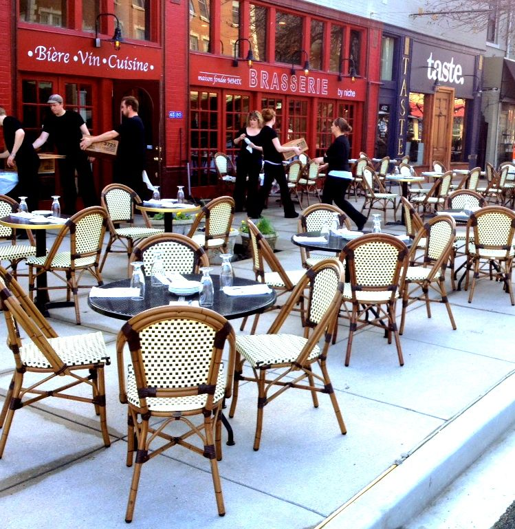 Awesome Patios At Brasserie And Taste Bar In St Louis