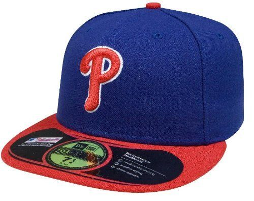 023dc9af5a5c8 MLB Philadelphia Phillies Authentic On Field Alternate 59FIFTY Cap by New  Era.  15.99