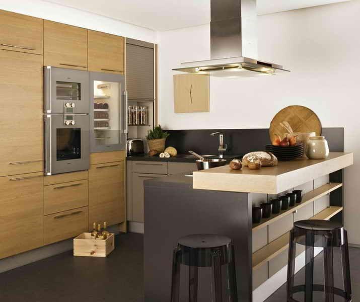 qualite cuisine but signature b acp konyha pinterest ilot tages et cuisines. Black Bedroom Furniture Sets. Home Design Ideas