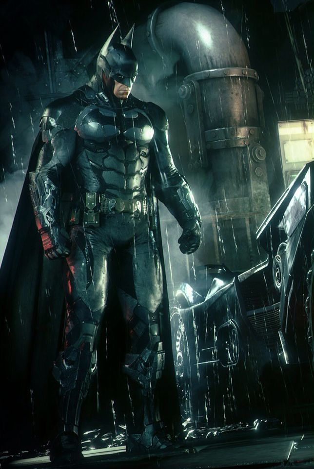 What Am I Doing Batman Arkham Knight Suit Games The Dark
