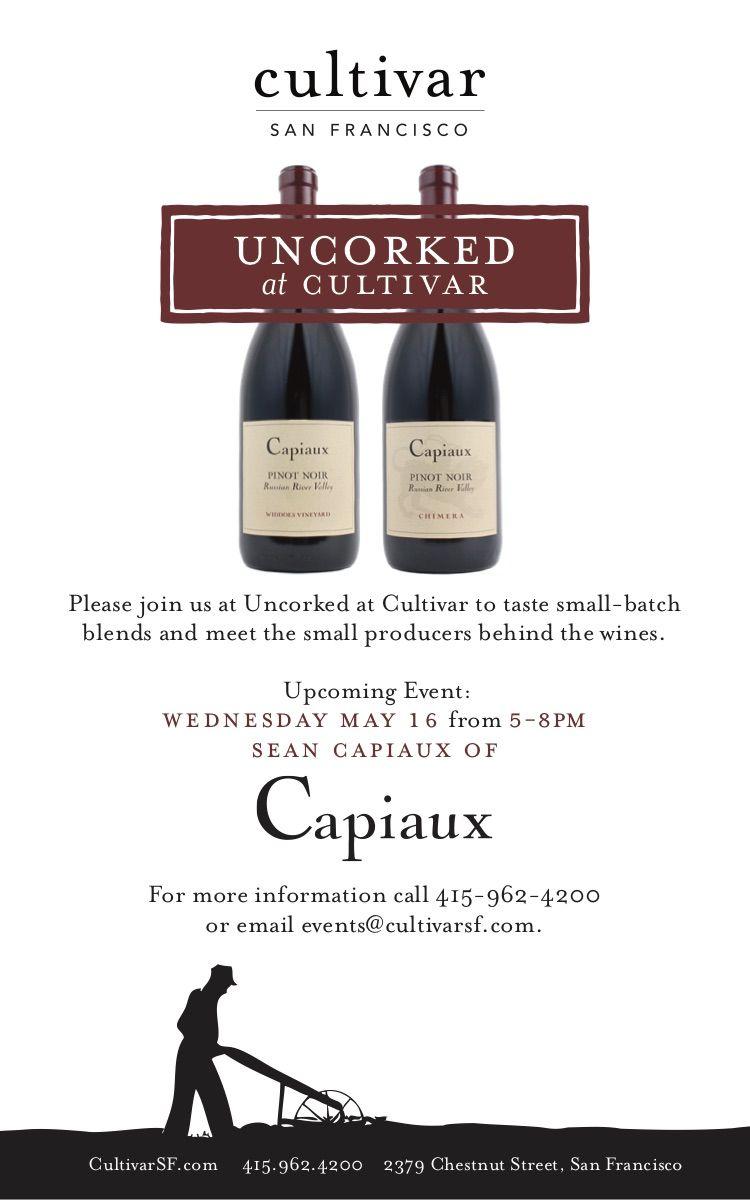 Sf Events Calendar.Pin By Cultivar Wine Cultivar Sf On Cultivar San Francisco Event