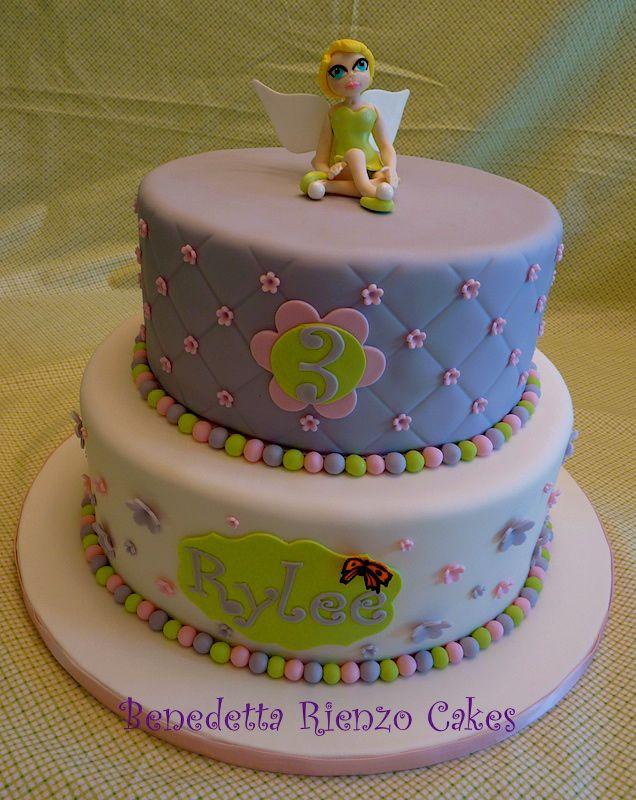 Rylee's tinkerbell cake