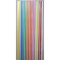 Rideau de porte rideau de porte lani res plastique anti - Rideau de porte exterieur anti mouche ...