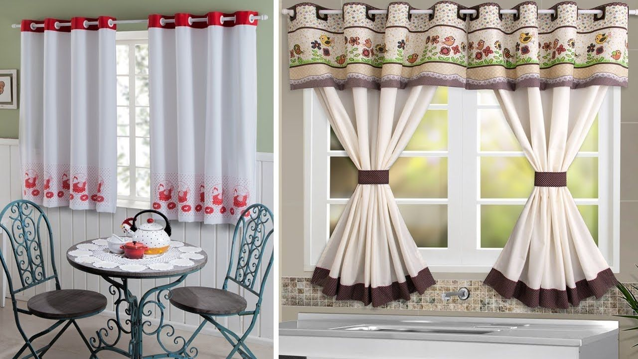 Conoce 7 Hermosas Cortinas Modernas Para Cocina Pequena Youtube Decor Home Decor Curtains