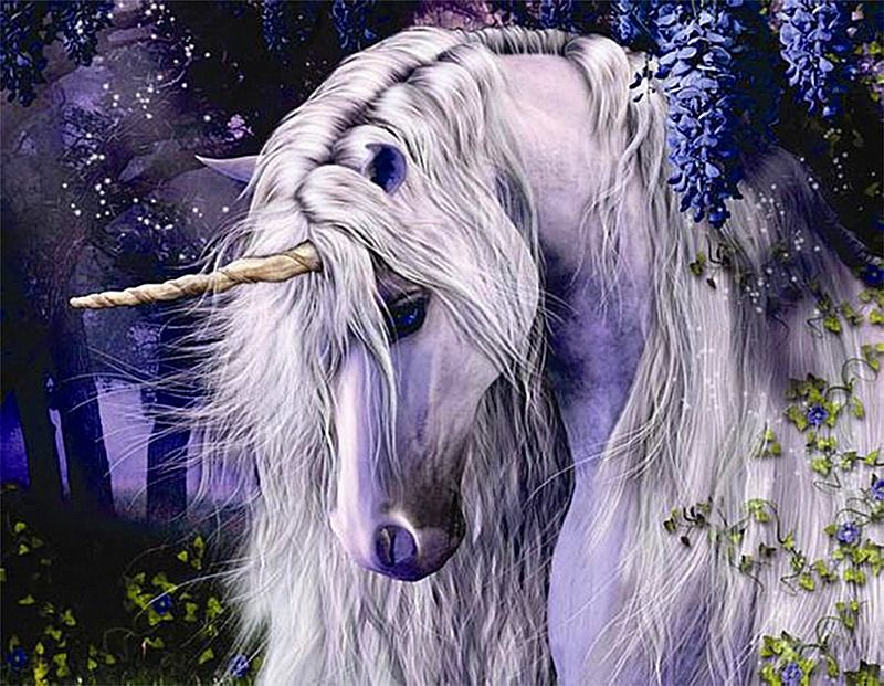 Shy Unicorn DIY Diamond Painting is part of Unicorn pictures, Unicorn art, Unicorn horse, Unicorn, Unicorn fantasy, Unicorn and fairies - Free Shipping Worldwide  HighQuality Canvas and Diamonds are enough to make Shy Unicorn DIY Diamond Painting  UP TO 70% OFF on 5D Diamond Paintings
