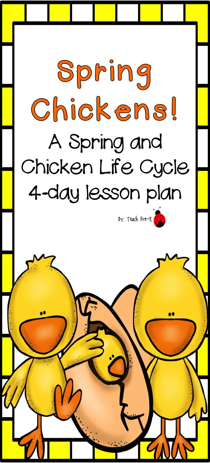 Spring chickens a spring and life cycle of a chicken lesson plan spring chickens a spring and life cycle of a chicken lesson plan robcynllc Choice Image