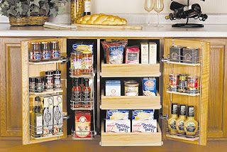 kitchen design ideas: #Organizing Kitchen Cabinets
