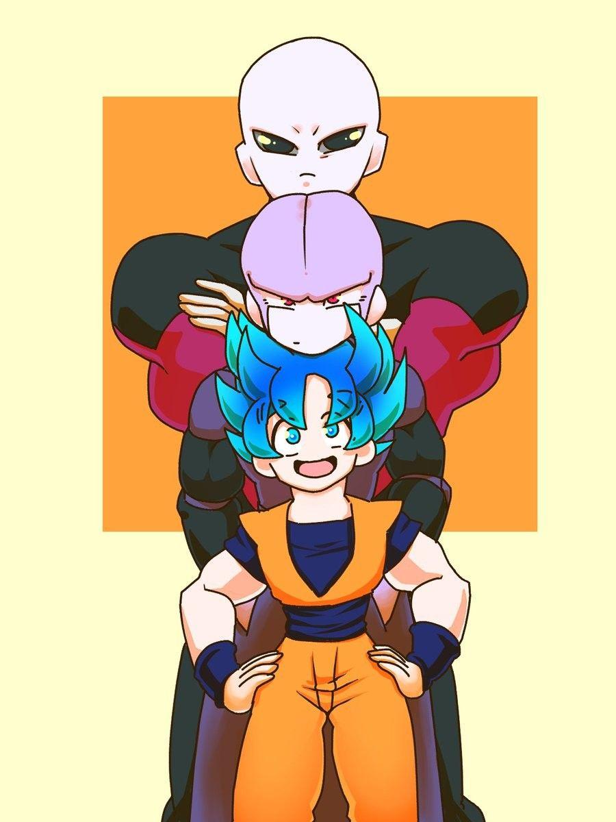 Jiren Hit And Goku Dragon Ball Goku Dragon Ball Art Dragon Ball Super Art