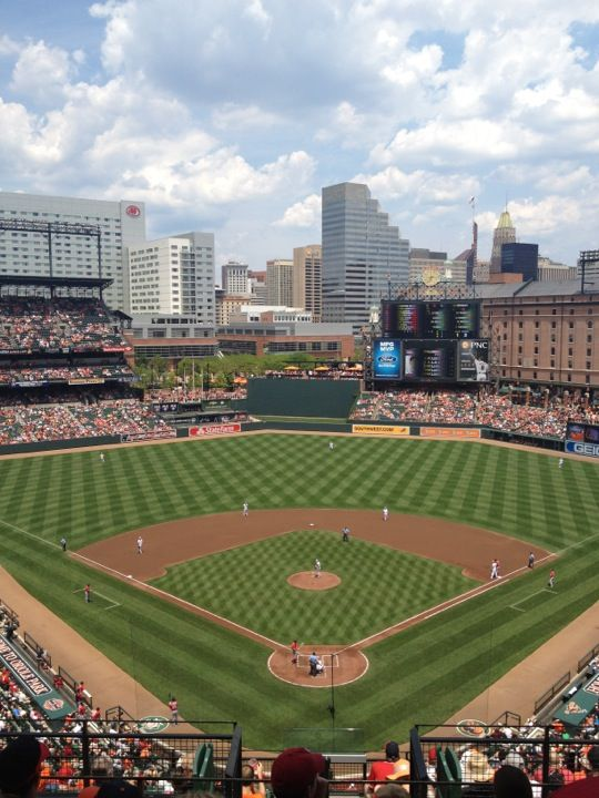 Oriole Park At Camden Yards Camden Yards Orioles Mlb Stadiums