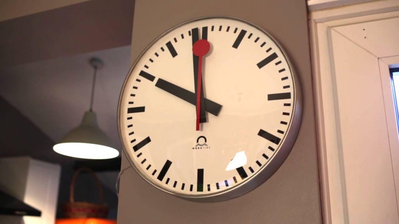 Youtube Swiss Railway Clock Clock Mondaine Clock