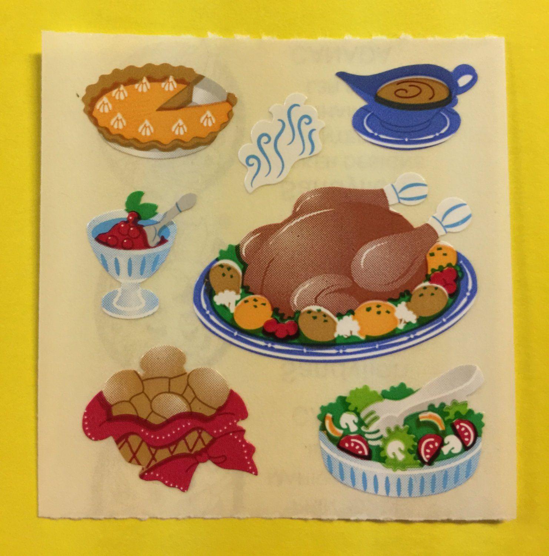 Sandylion Turkey Dinner Thanksgiving Gravy Pumpkin Pie Salad