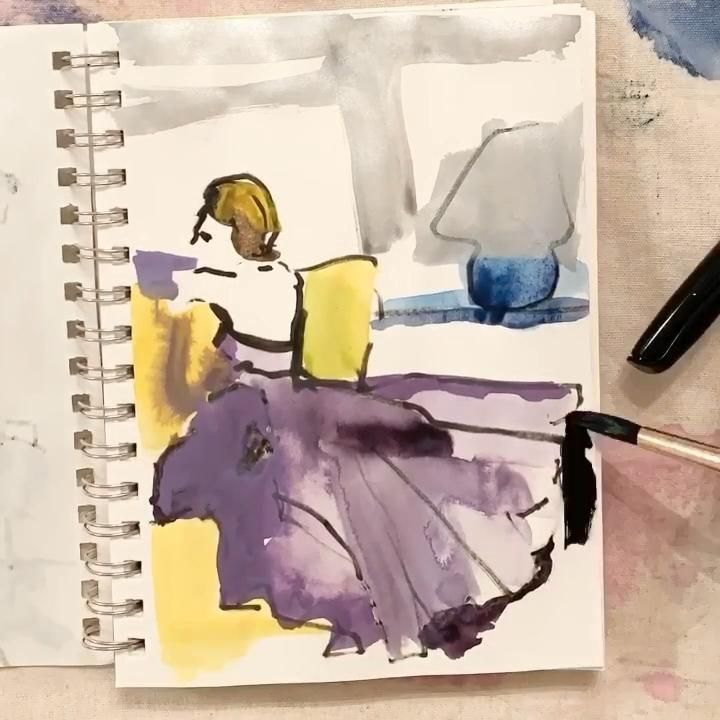 #art #designinspo #interiordesignbedroom #interiordesignideasforsmallspaces #artforsale #artistsoninstagram #artcreative #figurepainting #artist #watercolorarts #minted #artwork #painting #illustration #printsforsale #artprintsforsale