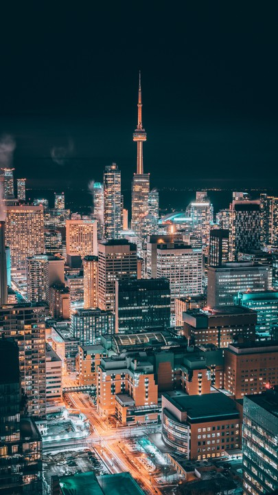 The Latest Iphone11 Iphone11 Pro Iphone 11 Pro Max Mobile Phone Hd Wallpapers Free Download City Night Aeri Toronto City Canada Photography City Aesthetic