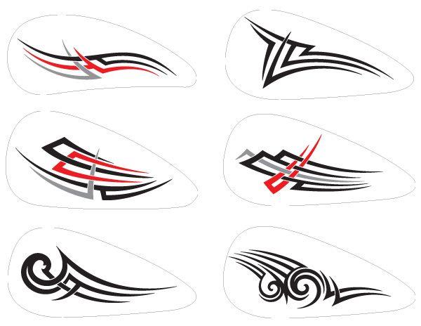 M s de 190 vectores para motos tribales llamas y for Disenos de motos