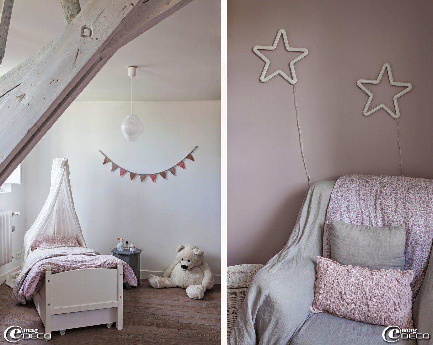 nimbus linge de lit Lit en bois et linge de lit 'AM.PM.' avec un ciel de lit 'Jacadi  nimbus linge de lit