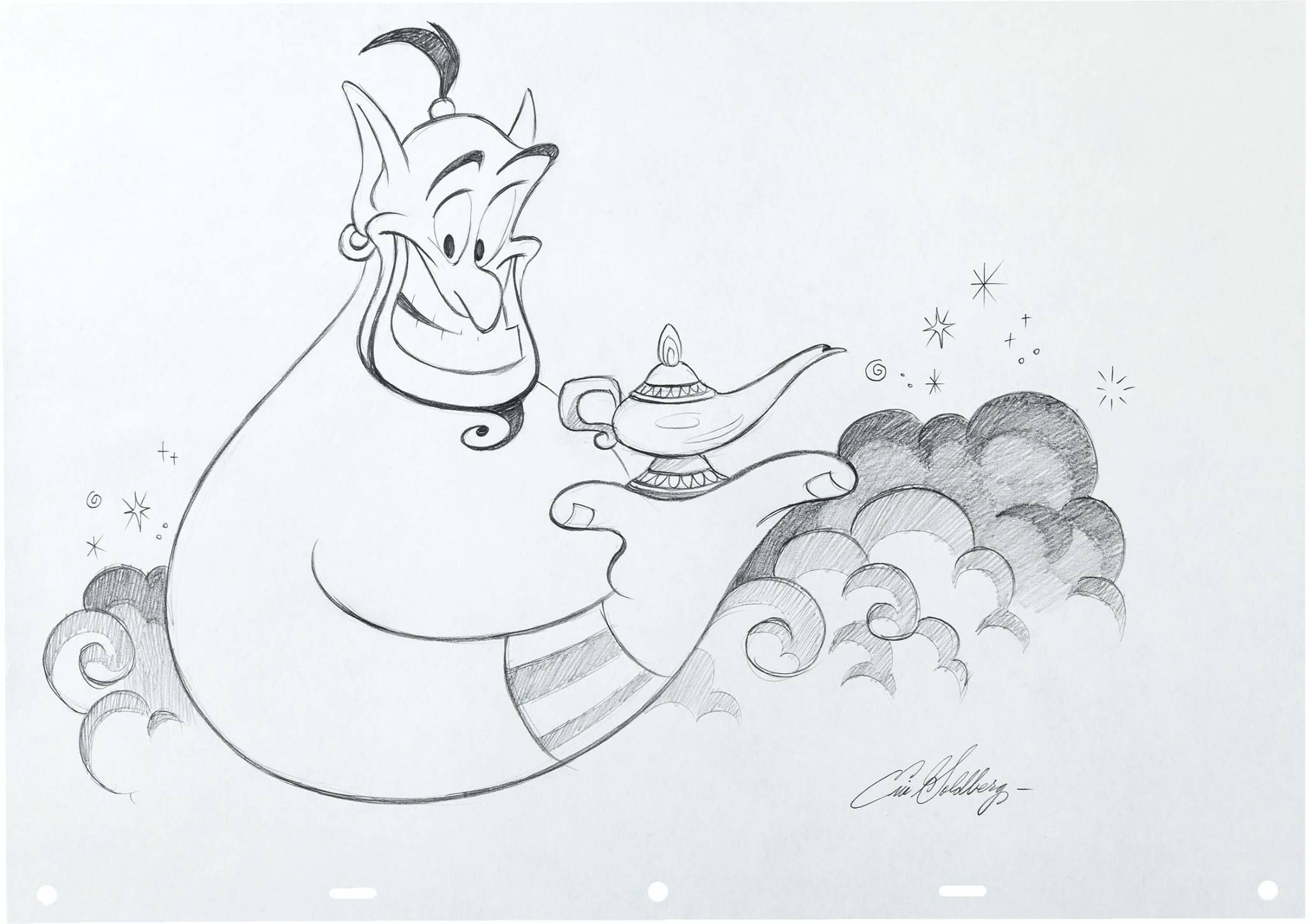 Eric goldberg aladdins genie drawing 2 048x1 449 пикс