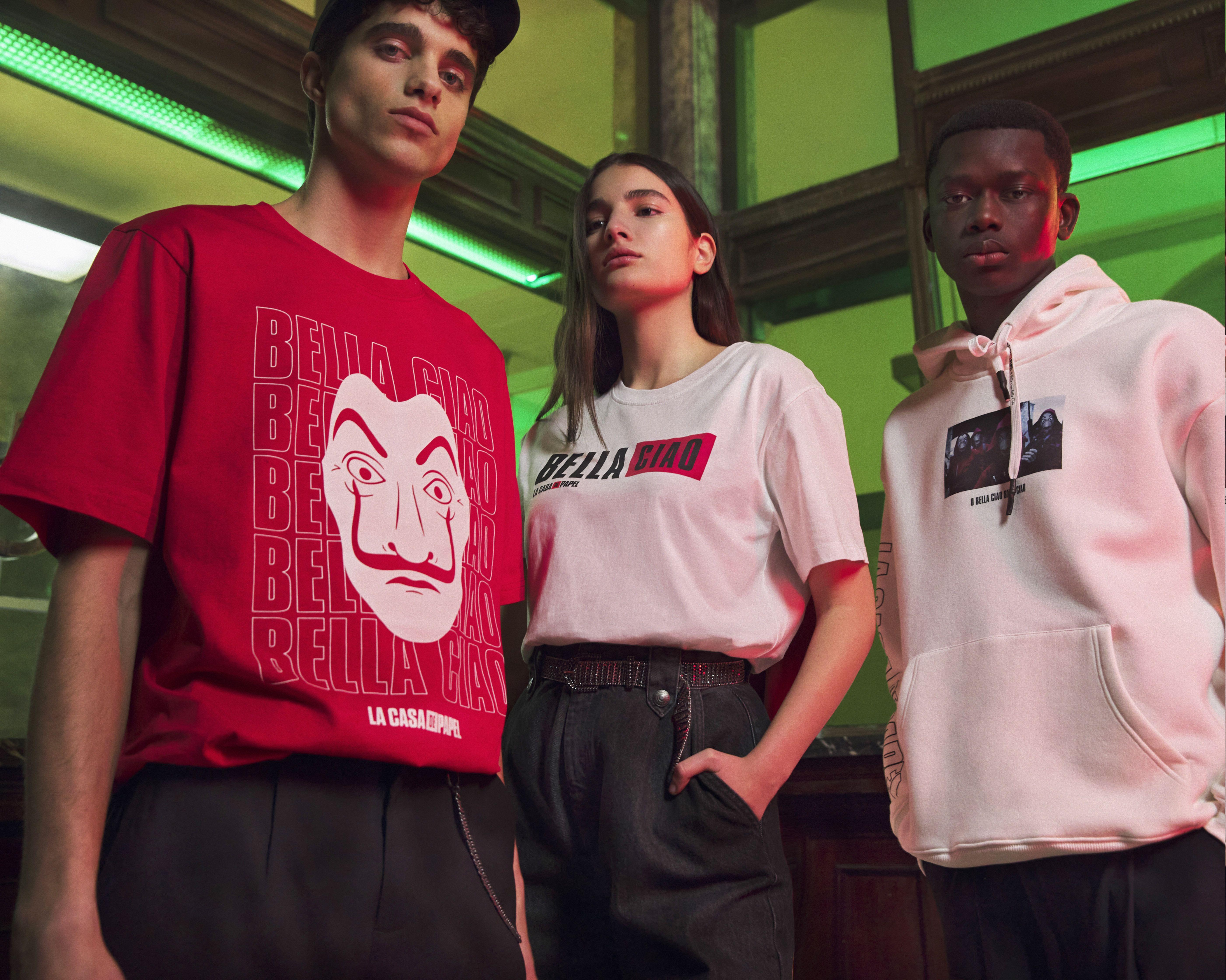 Netflix La Casa De Papel Aesthetic Outfits Clothes Fashion