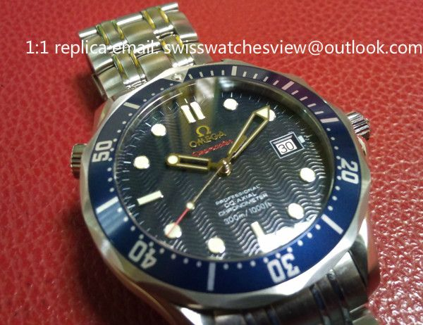 Omega Seamaster 300M James Bond 007 2220.80 Omega Seamaster 300M James Bond 007 2220.80 [2220.80] - $297.00