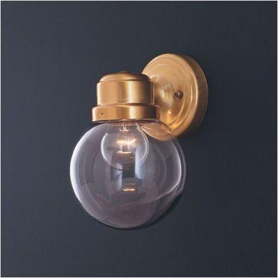 Thomas Lighting Sl9256 12 Globe Wall Sconce In Antique Brass 15 17