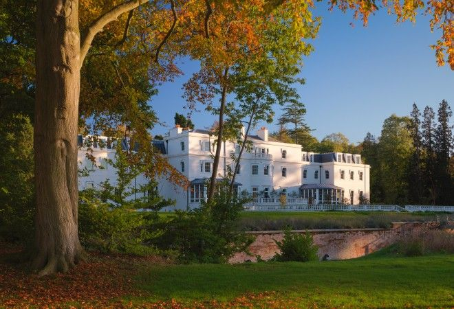 Grand Glamorous And Child Friendly Coworth Park Hotel In East Berkshire England